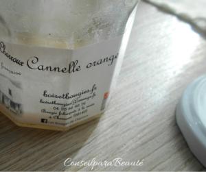 Mon retour sur ma bougie de Charroux Canelle orange !